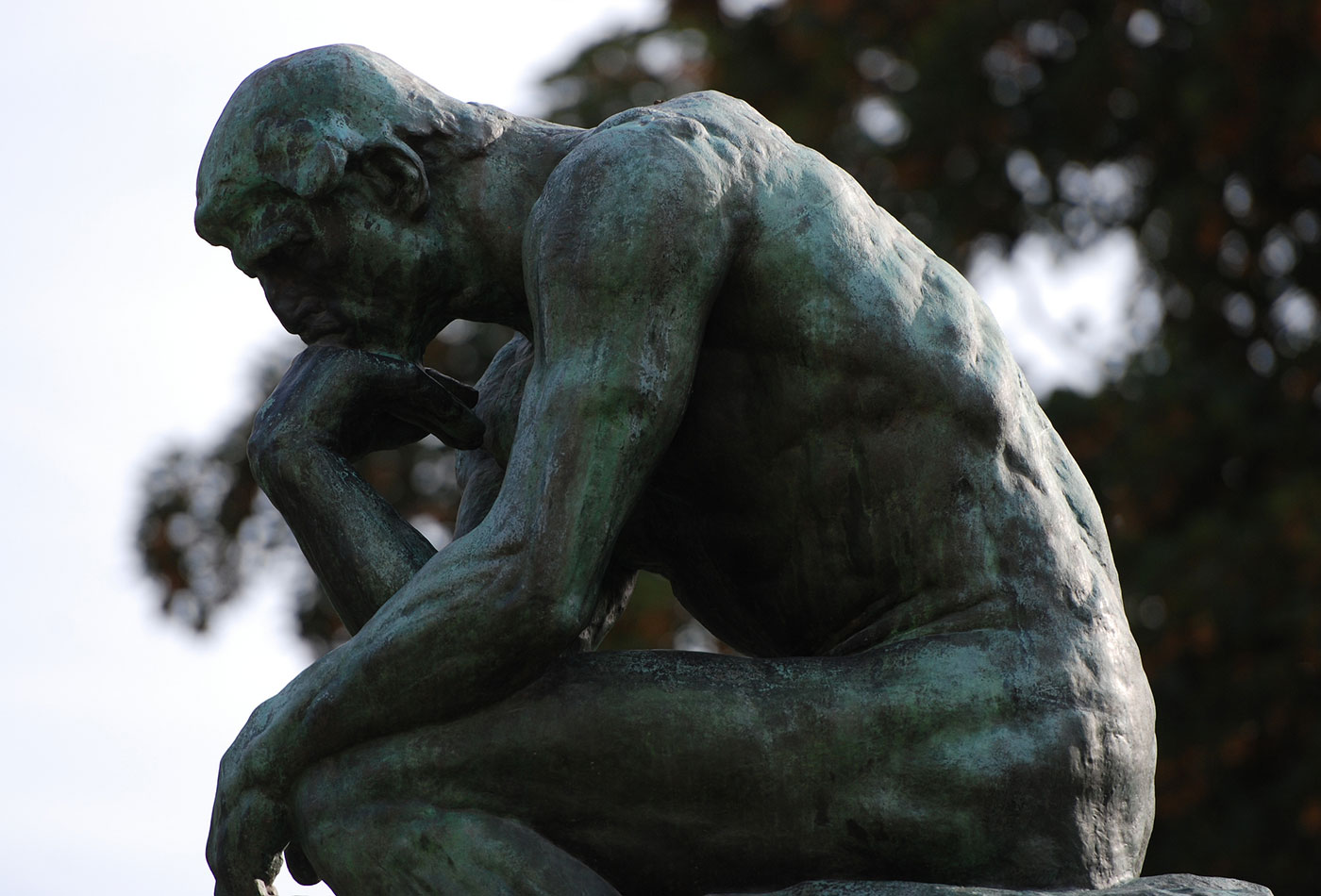 The Thinker, Musée Rodin.