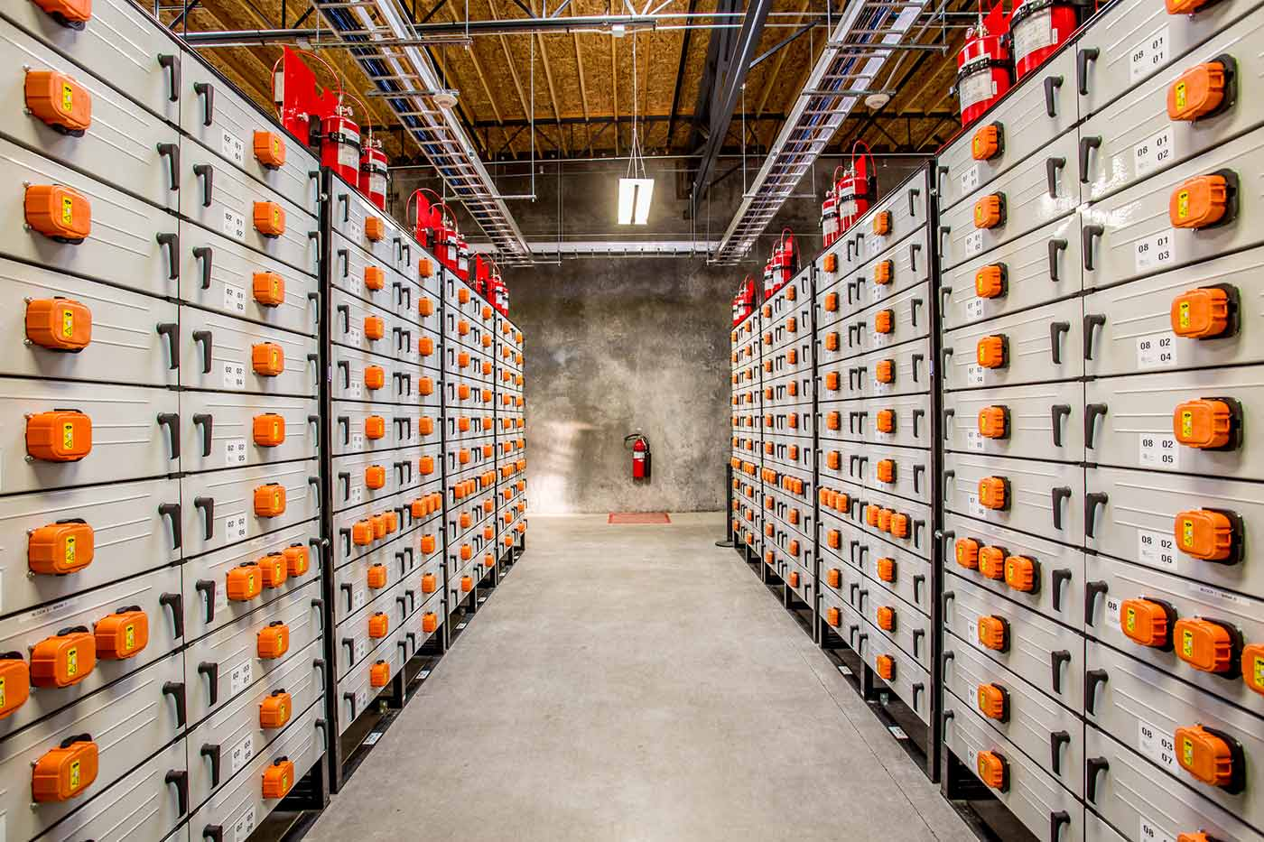 Portland General Electric's Salem Smart Power Center includes a large-scale energy storage system.