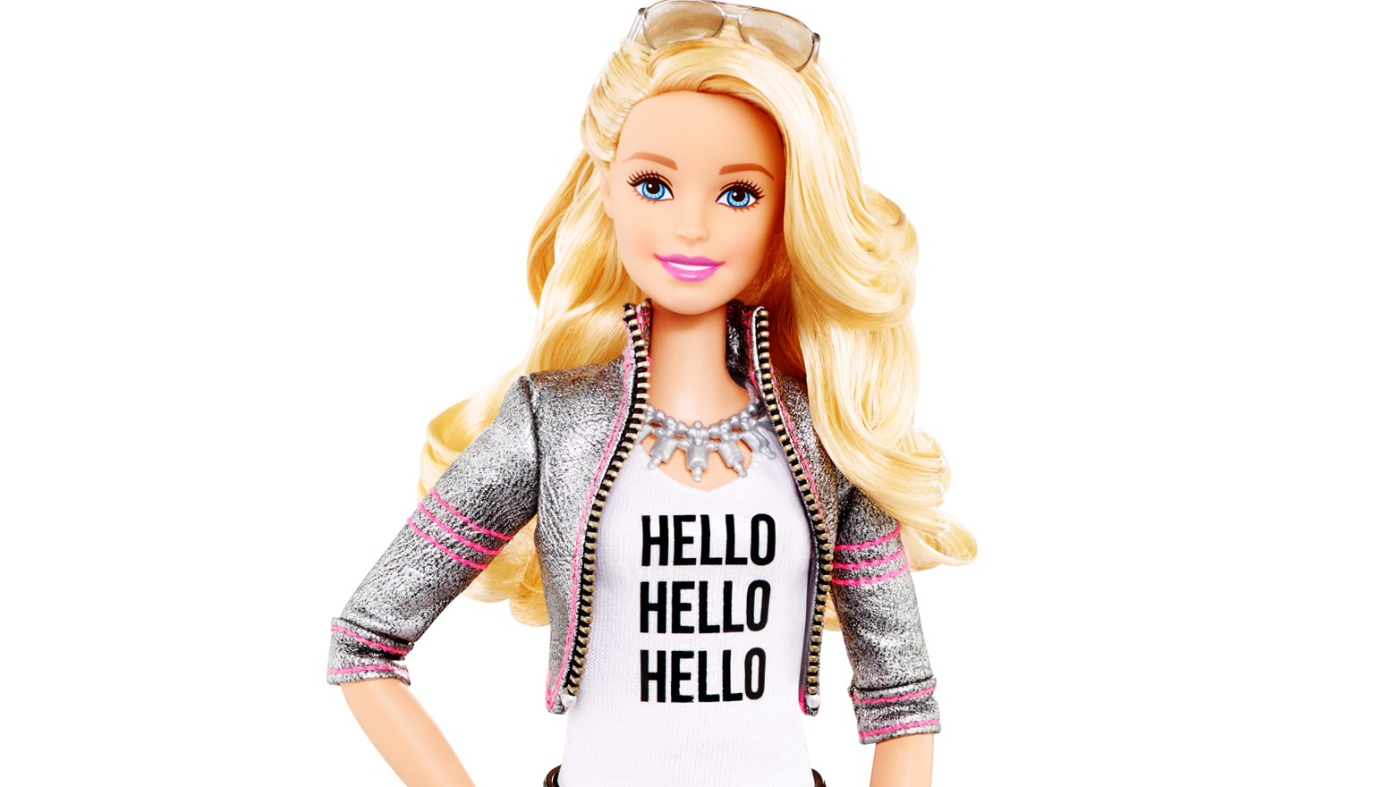 Hello Barbie has a microphone, speaker, and WiFi connection