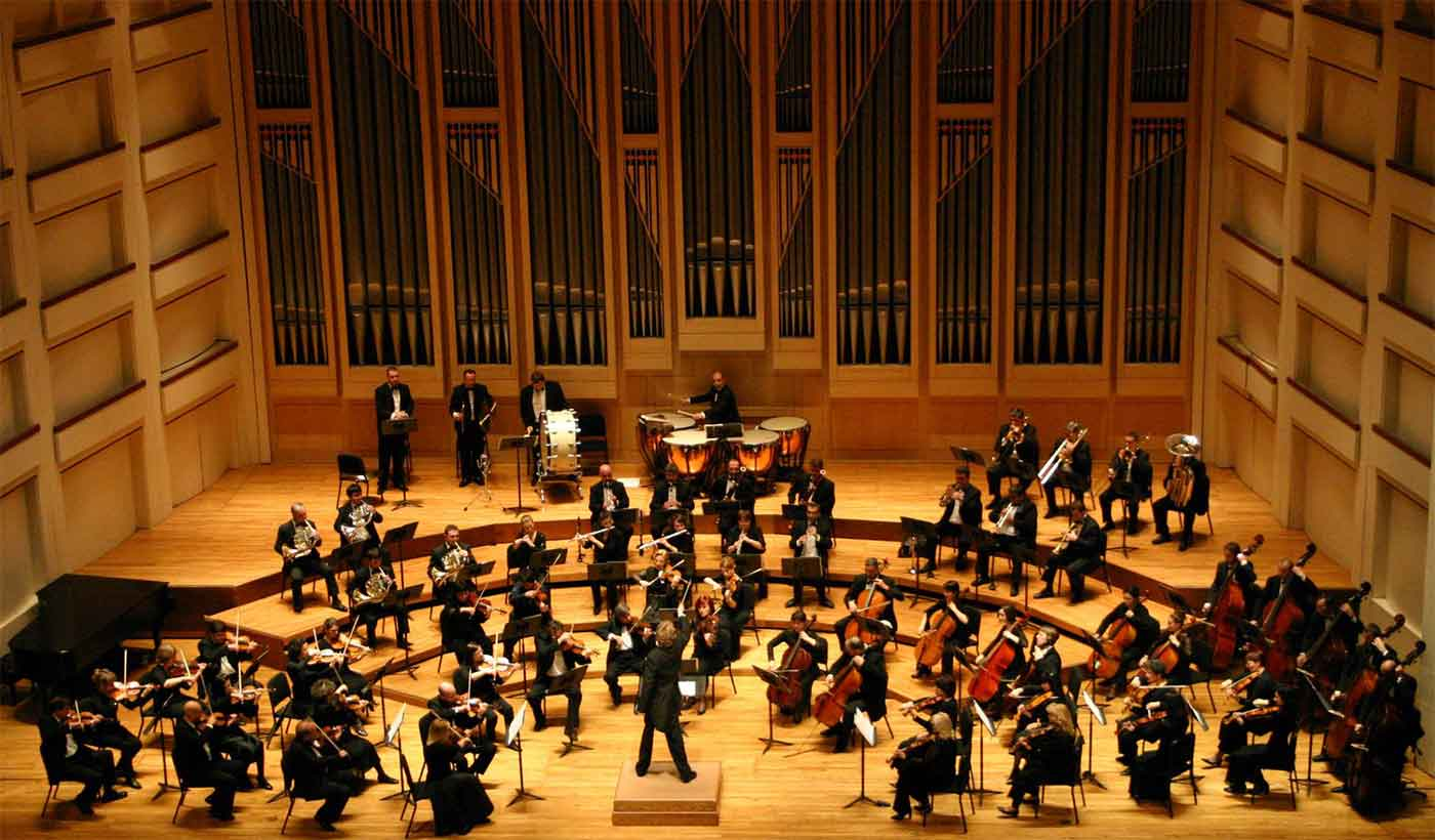 Dublin Philharmonic Orchestra performing in North Carolina
