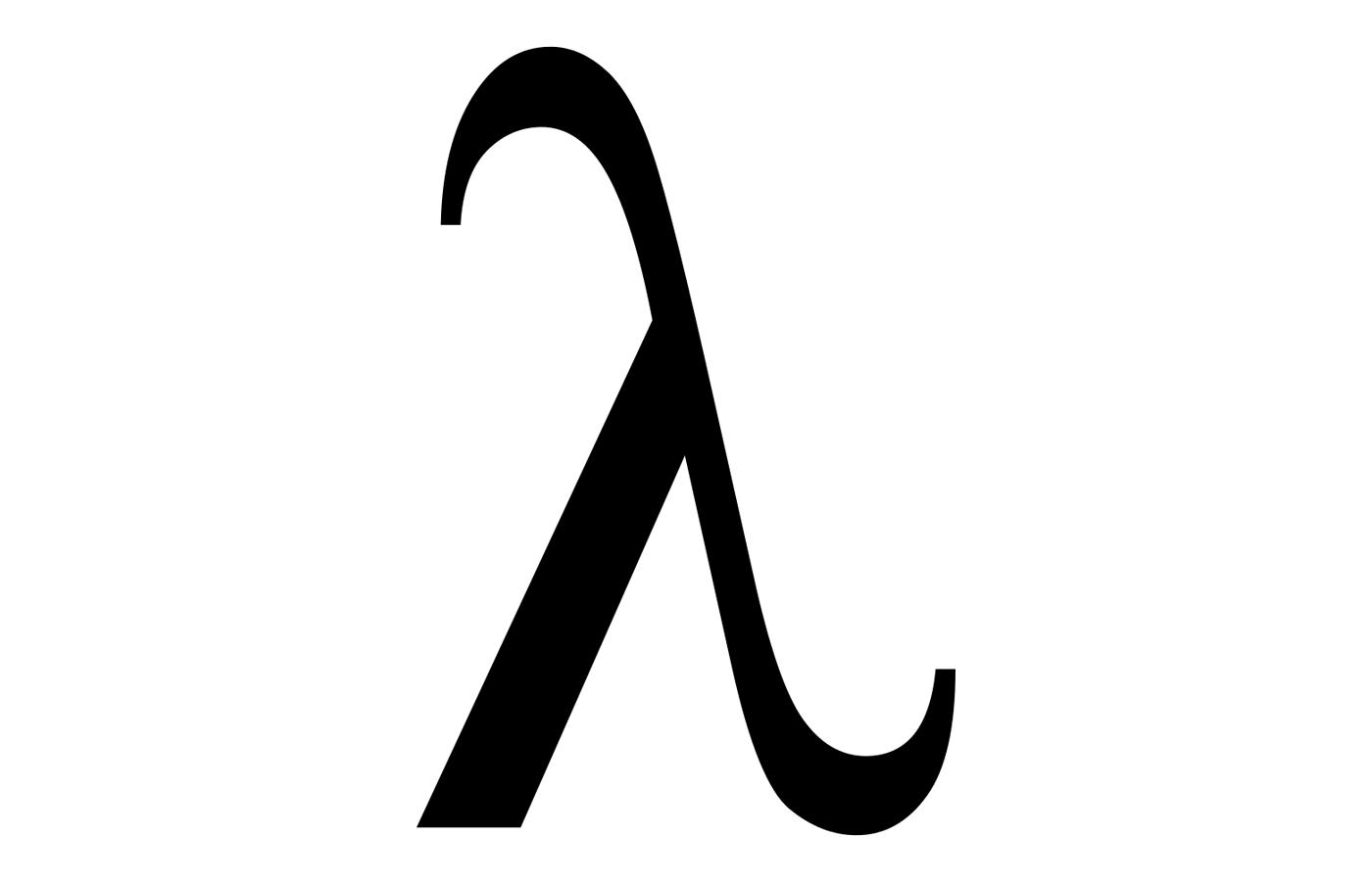 Greek lowercase letter Lambda