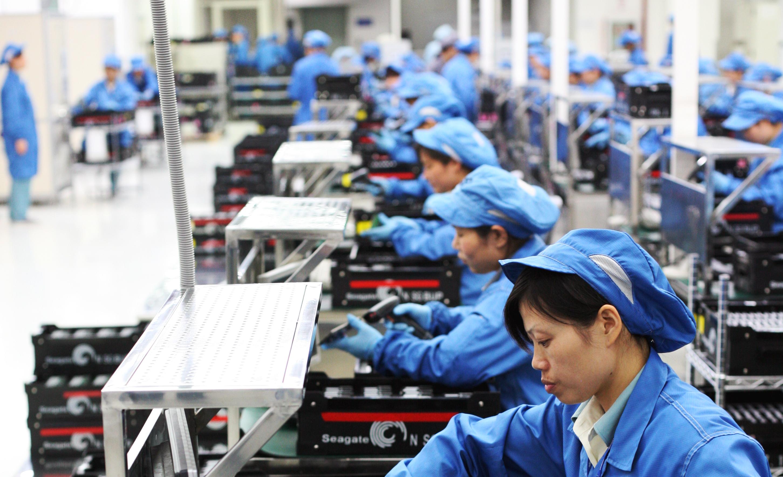 Seagate Wuxi China Factory Tour