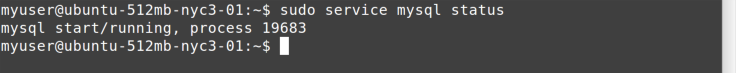 service status command
