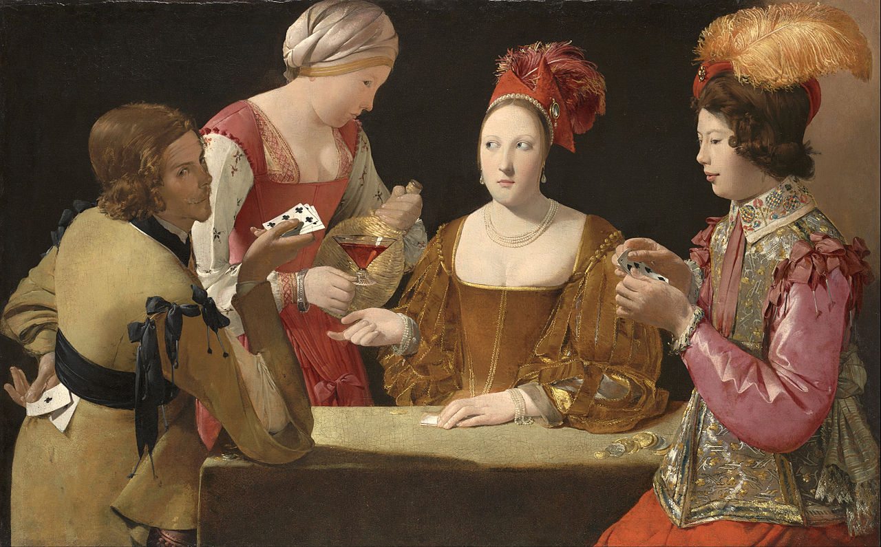 The Cheat with the Ace of Clubs, Georges de la Tour