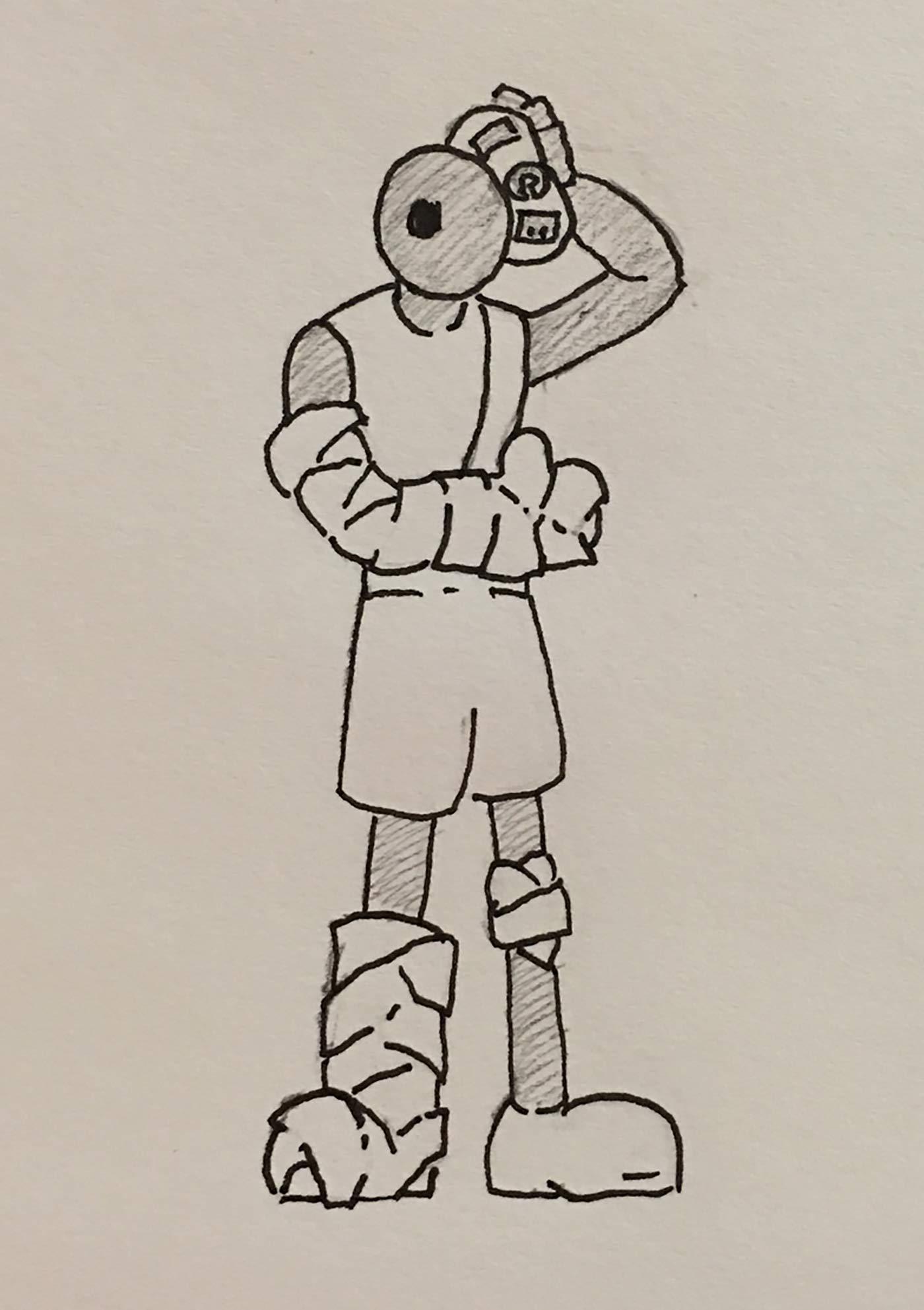 Injury drawing