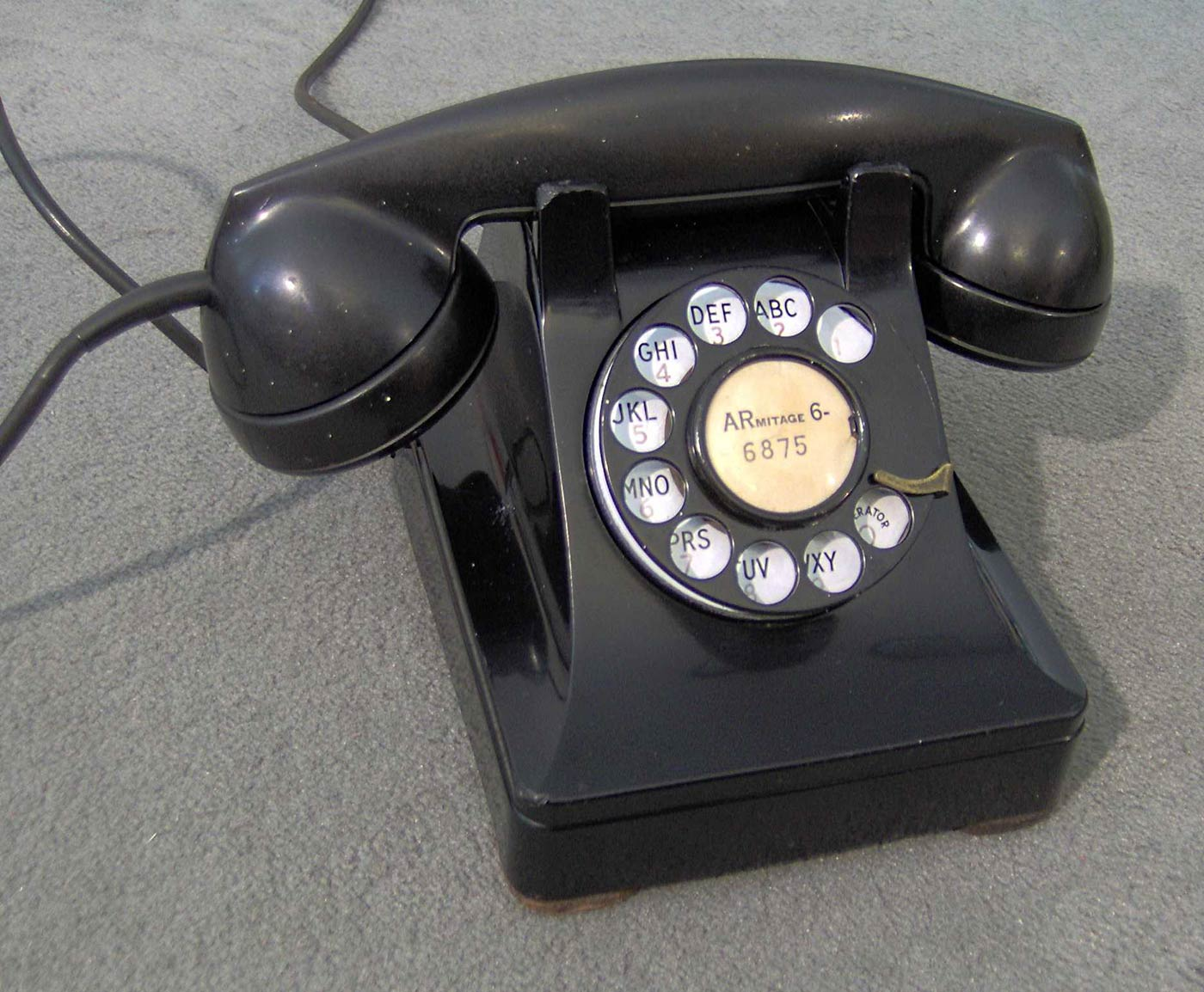 """Designed by Henry Dreyfuss, the Western Electric Model 302 was ubiquitous in television shows of its time, including """"I Love Lucy."""""""