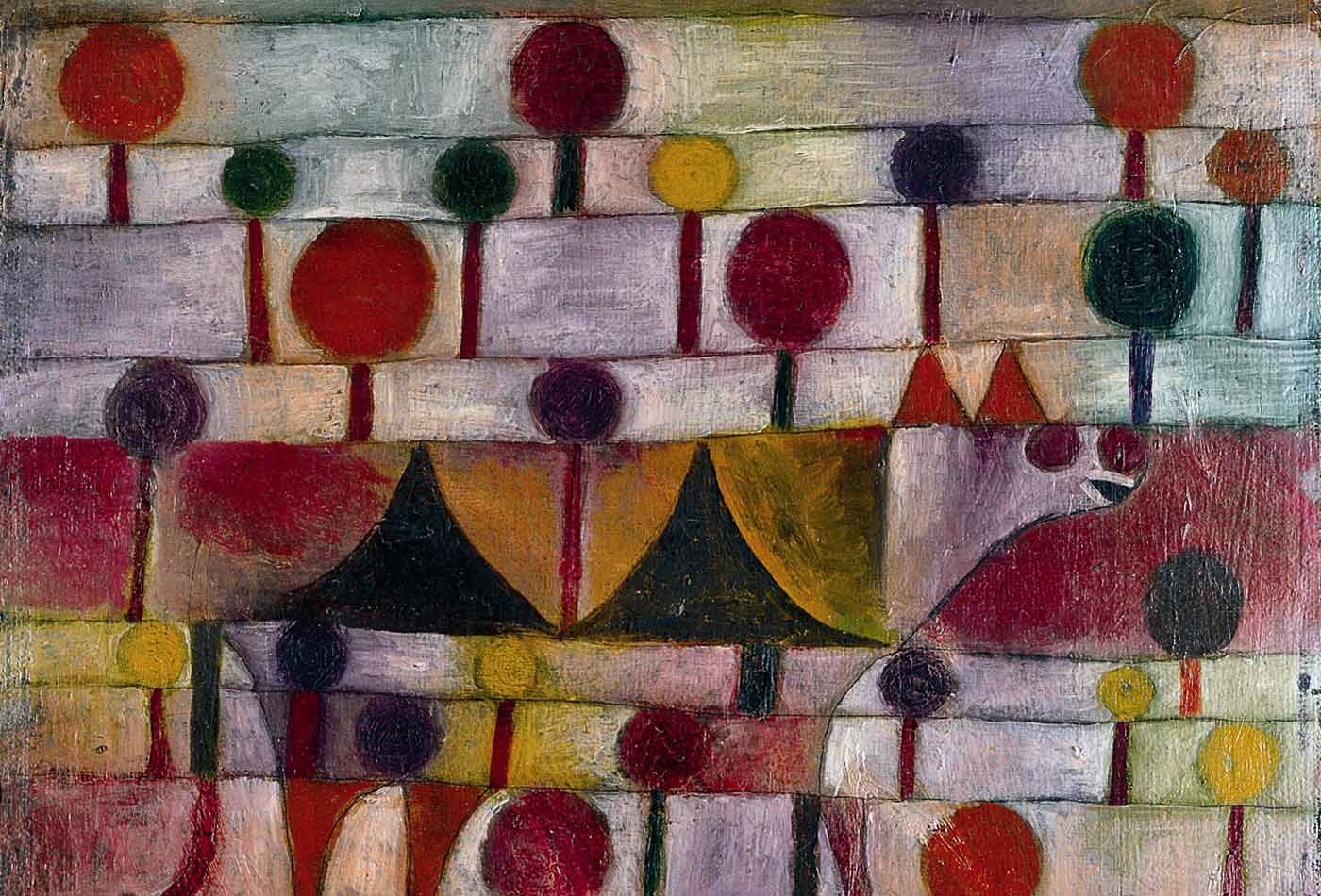 """Camel (in Rhythmic Landscape with Trees),"" by Paul Klee, 1920"