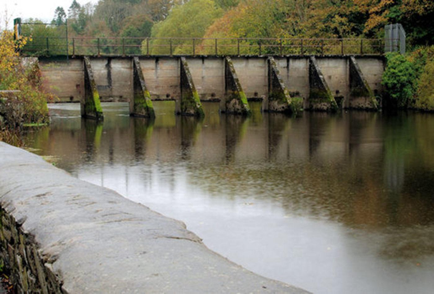 Quoile floodgates, Downpatrick.