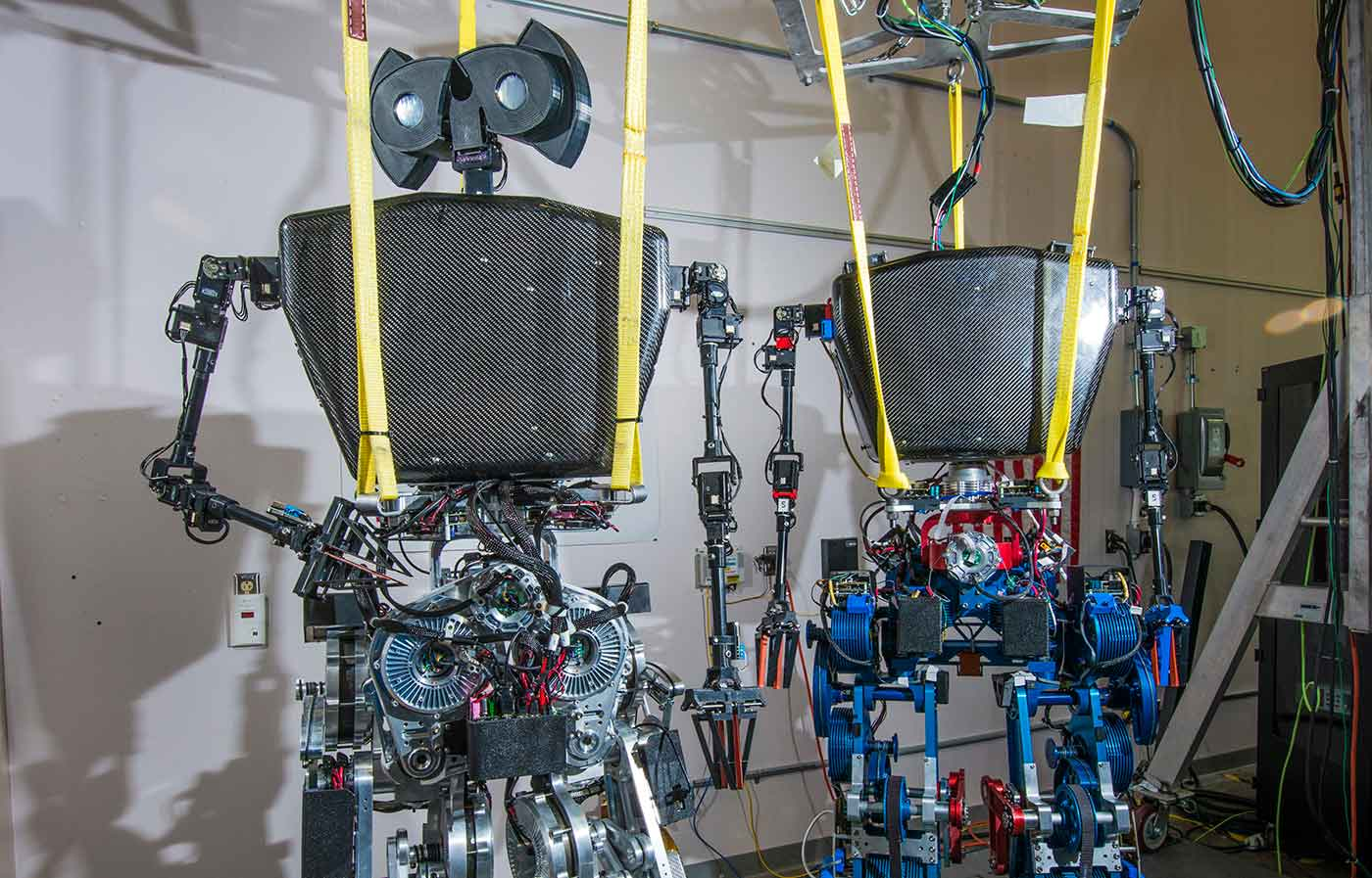 Sandia is developing energy-efficient actuation and drive train technologies to improve the charge life of legged robots.