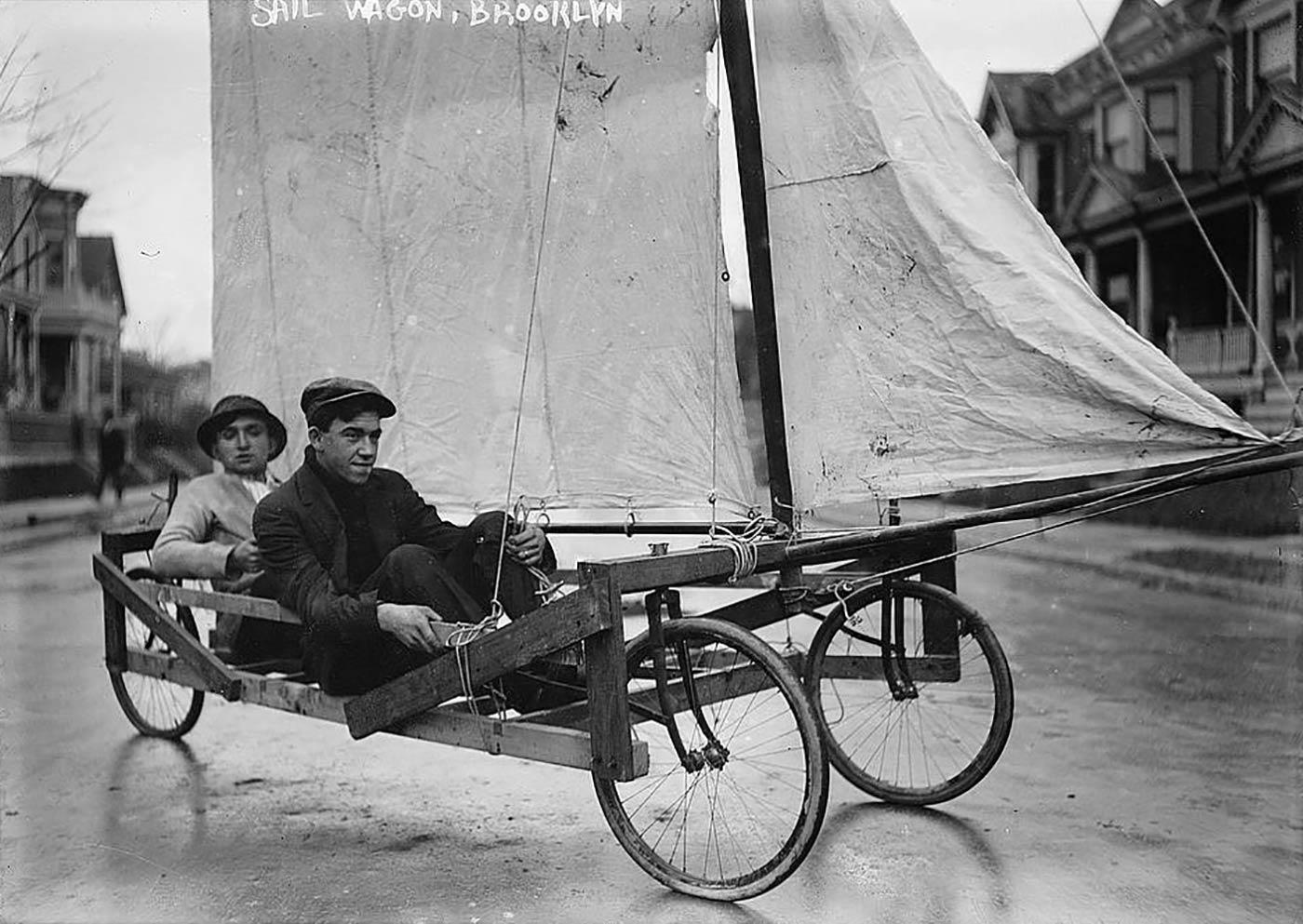 Sail Wagon, Brooklyn (LOC)