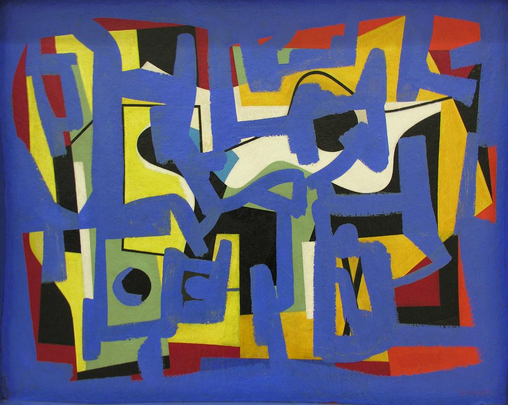 Ad Reinhardt: Abstraction (1939-44)