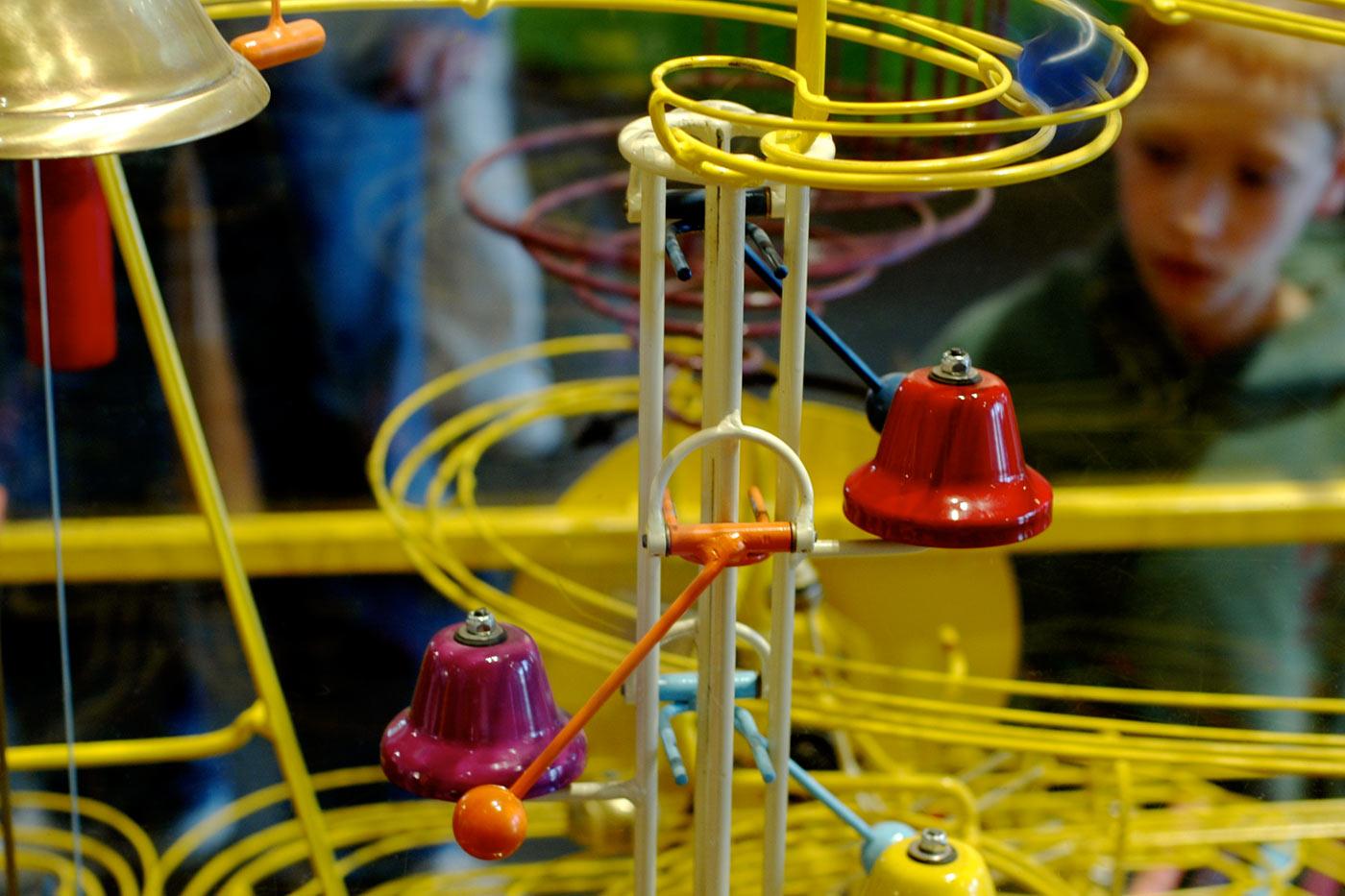 Rube Goldberg Machine.