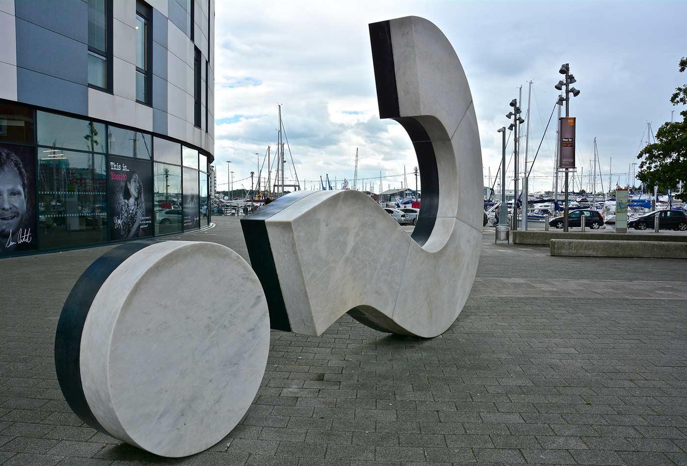The Big Question Mark Sculpture