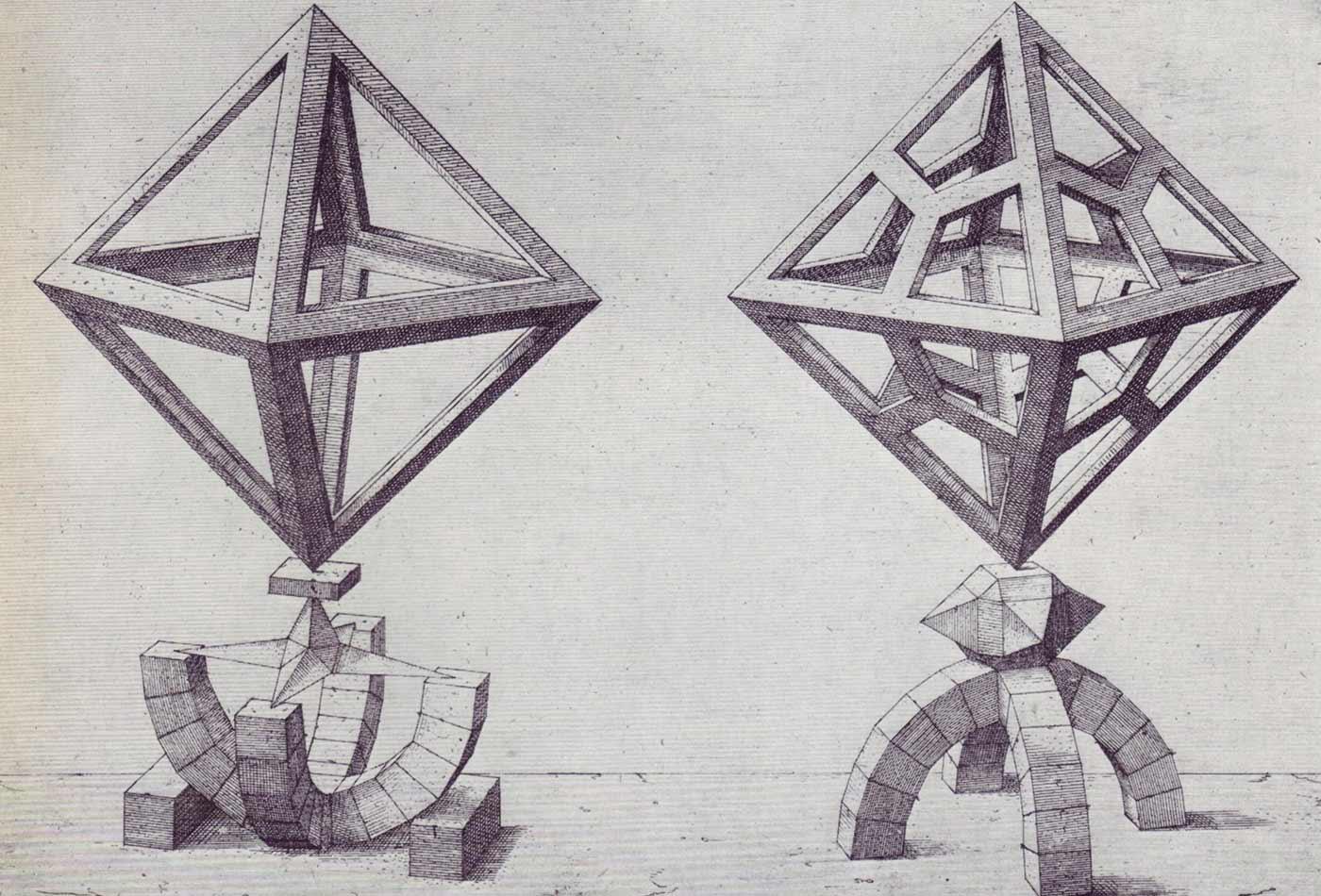 Perspectiva Corporum Regularium, Wenzel Jamnitzer, 1568.