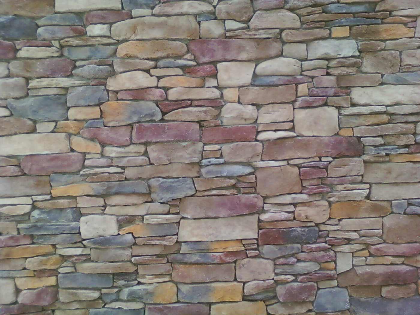Rock wall.