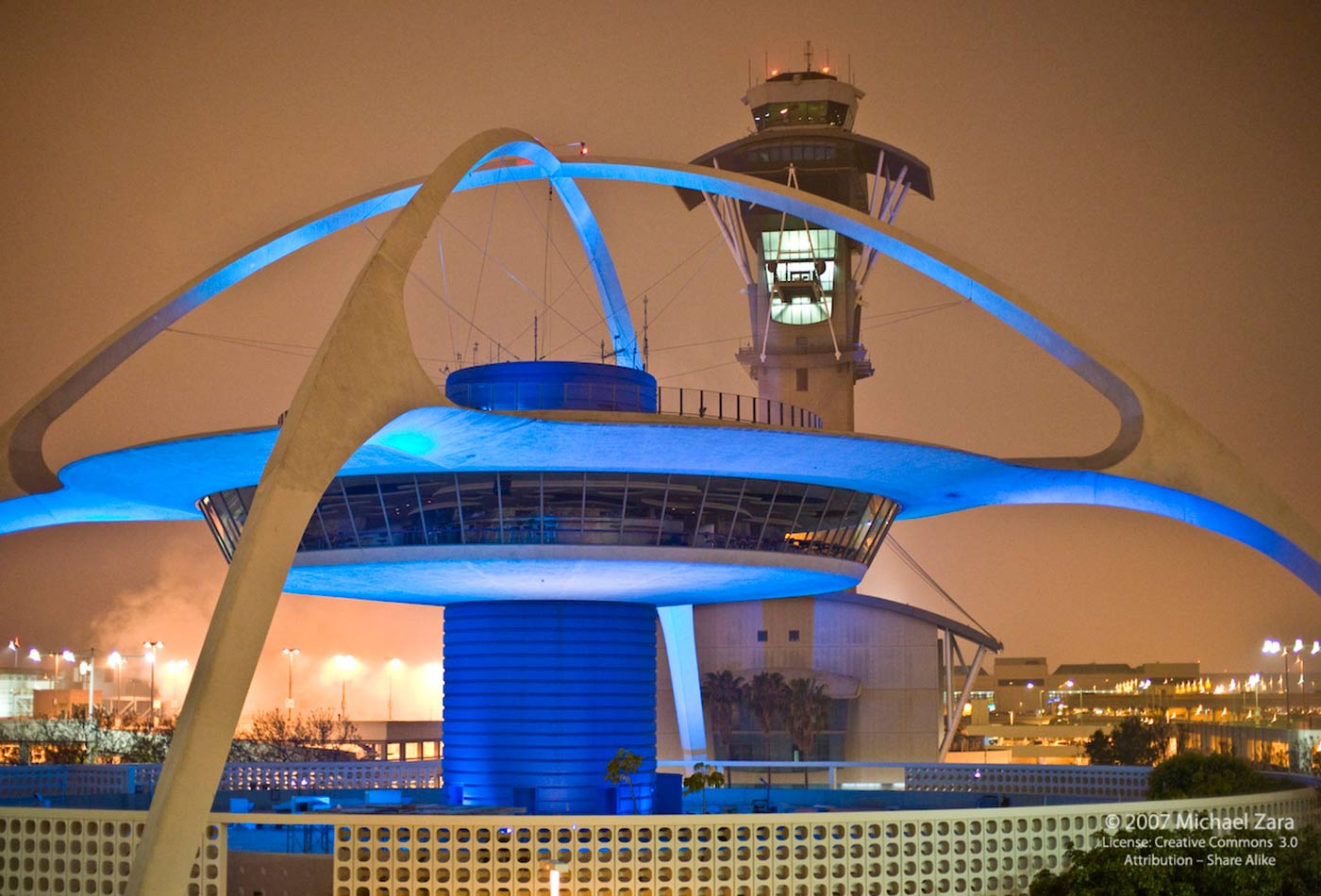 Control tower at LAX.
