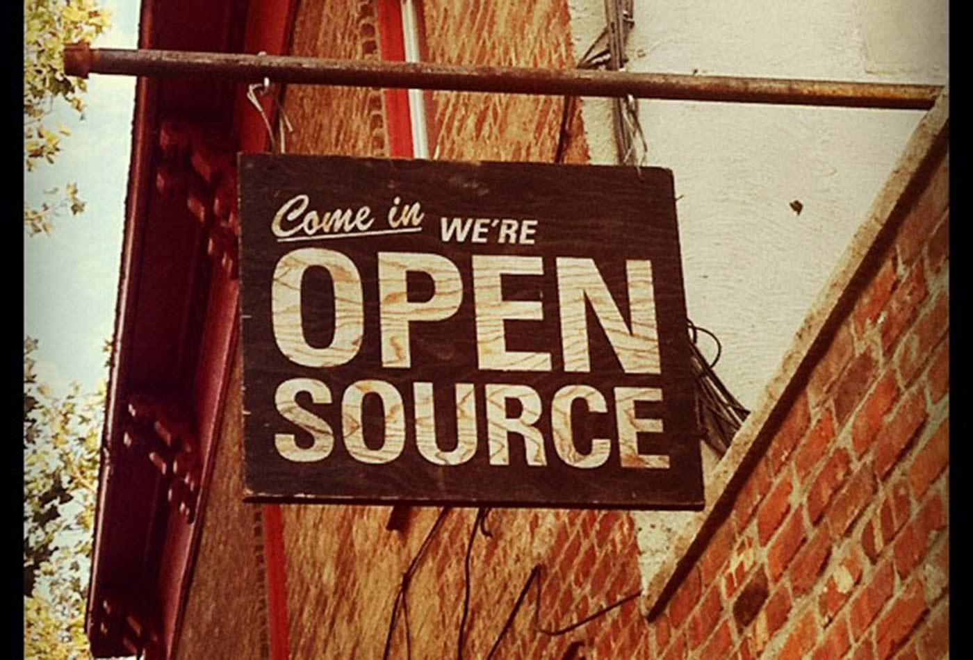 Come in, we're open source.