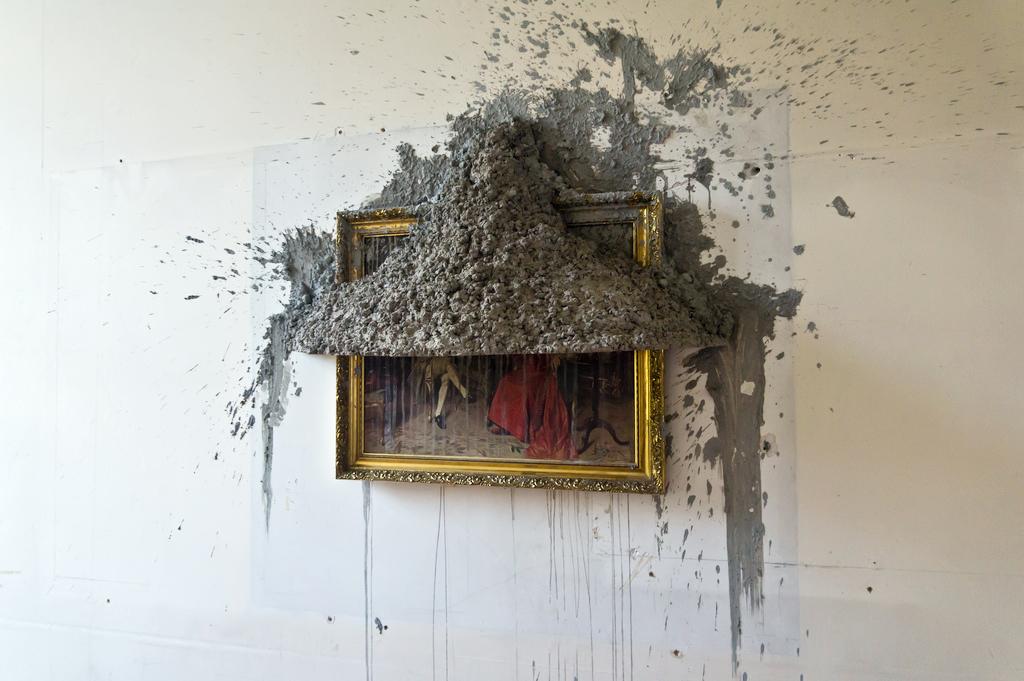 Horror vacui by Alejandro Almanza Pereda at the Dublin Contemporary 2011