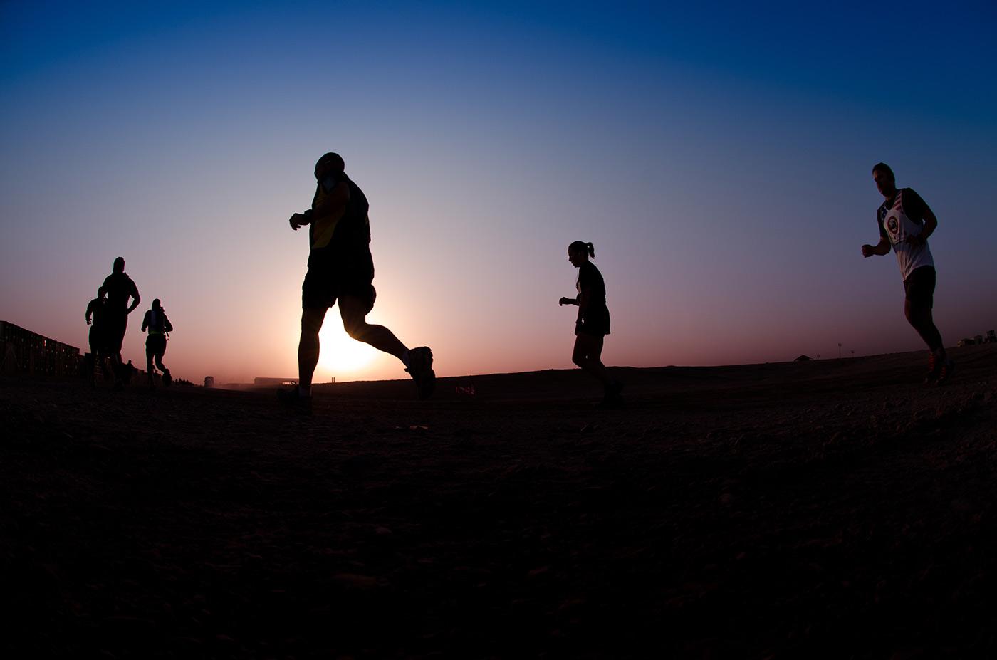 Marine Corps Marathon Camp Leatherneck.