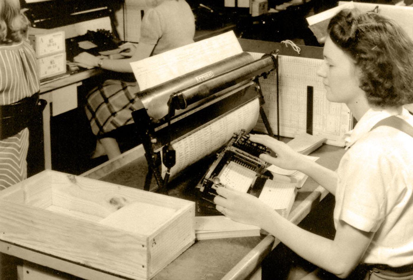 1940 Data Processing.