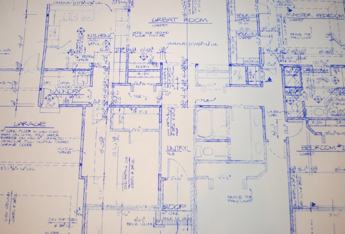 Blueprints.