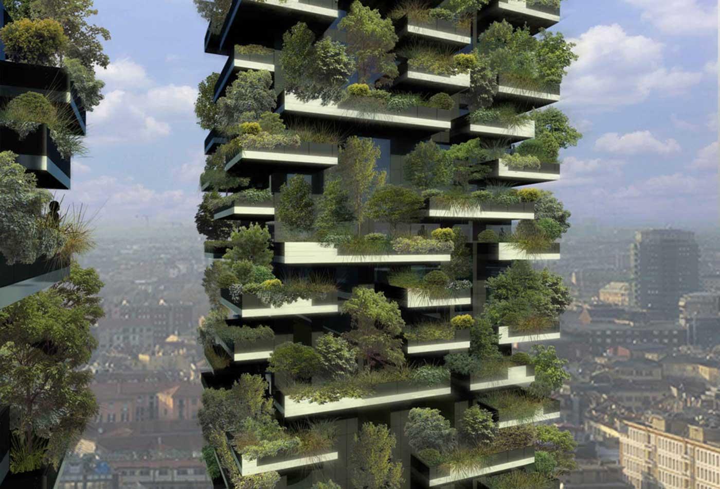 Vertical forest, Milan.