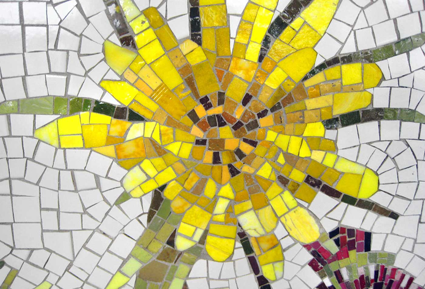 Brooklyn Seeds mosaic.