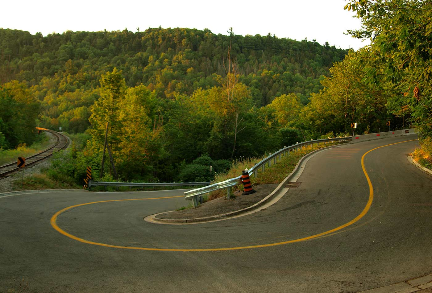Forks of the Credit Turn Pike.