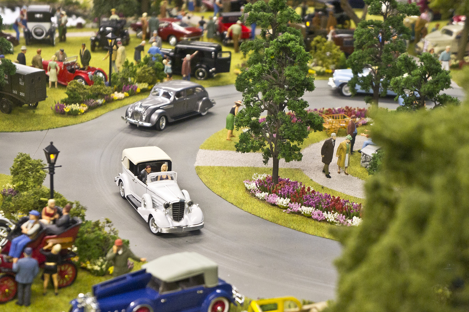 Miniature World, Victoria, B.C., photograph by Ruocaled