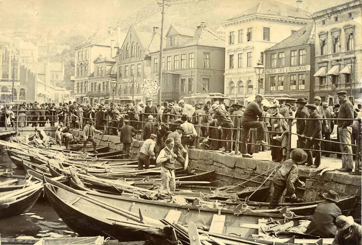 Fisketorget i Bergen