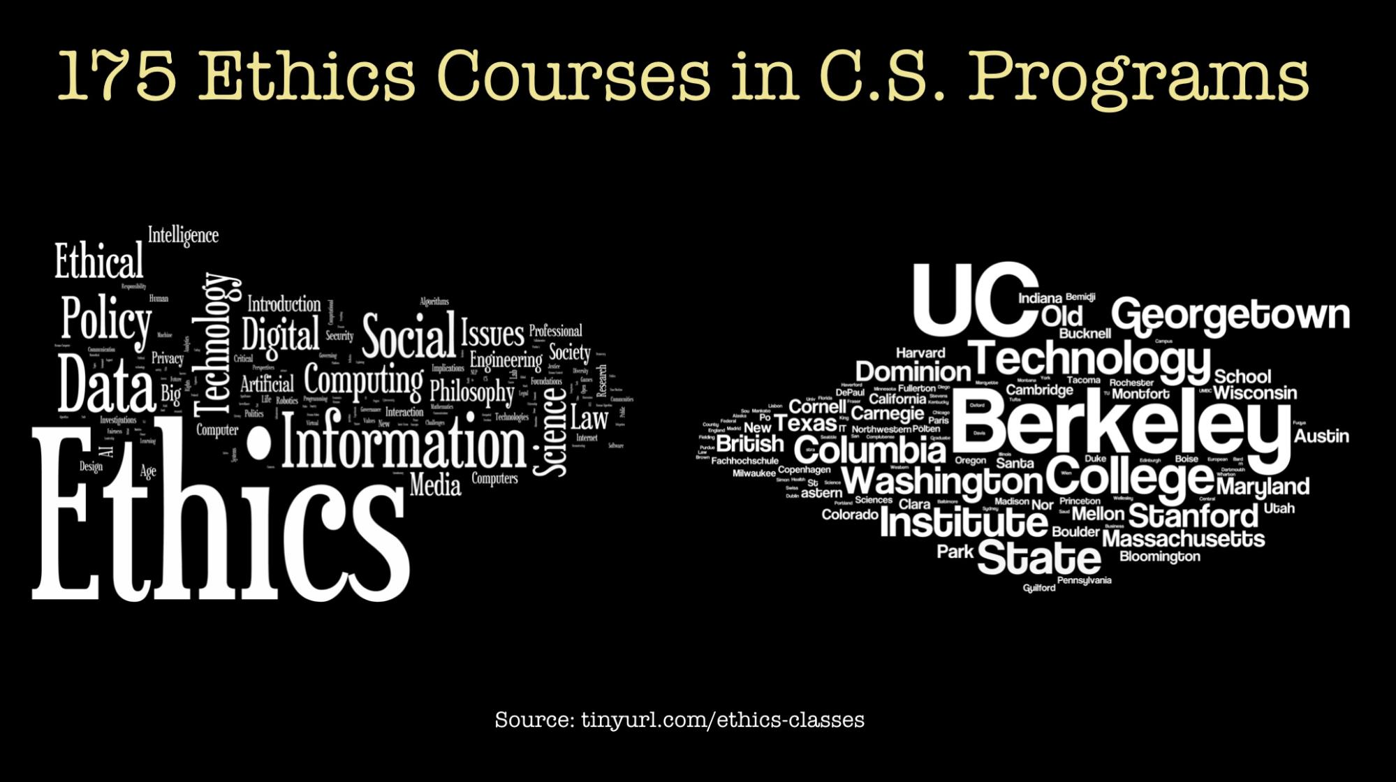 data ethics courses