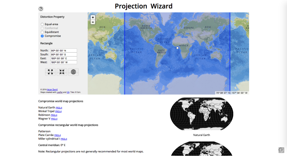 Projection Wizard