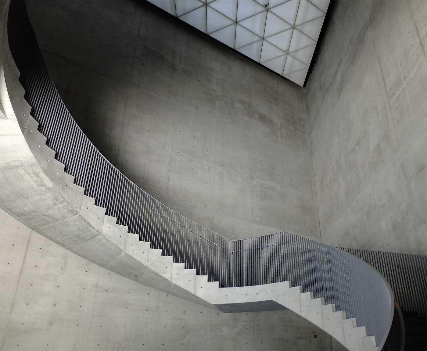 Stairs at Akita Museum of Art