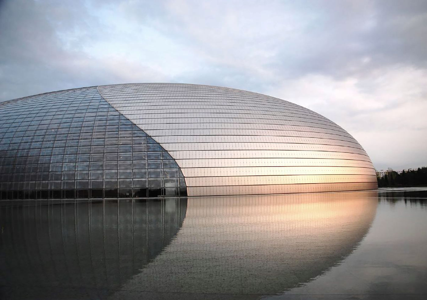 The National Centre for the Performing Arts, Beijing.