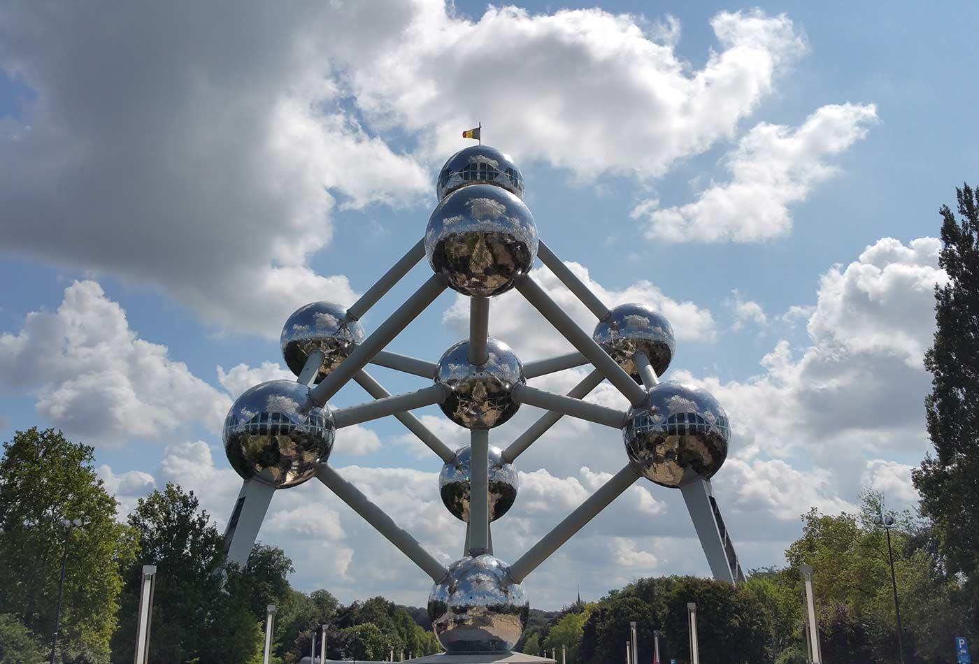 The Atomium.