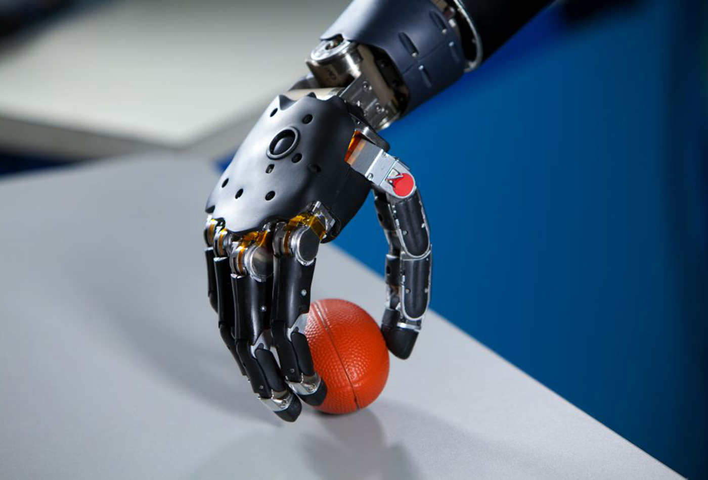 Brain-controlled, prosthetic arm funded by DARPA