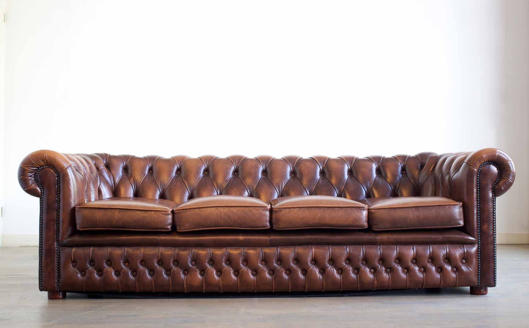Chesterfield four seater sofa
