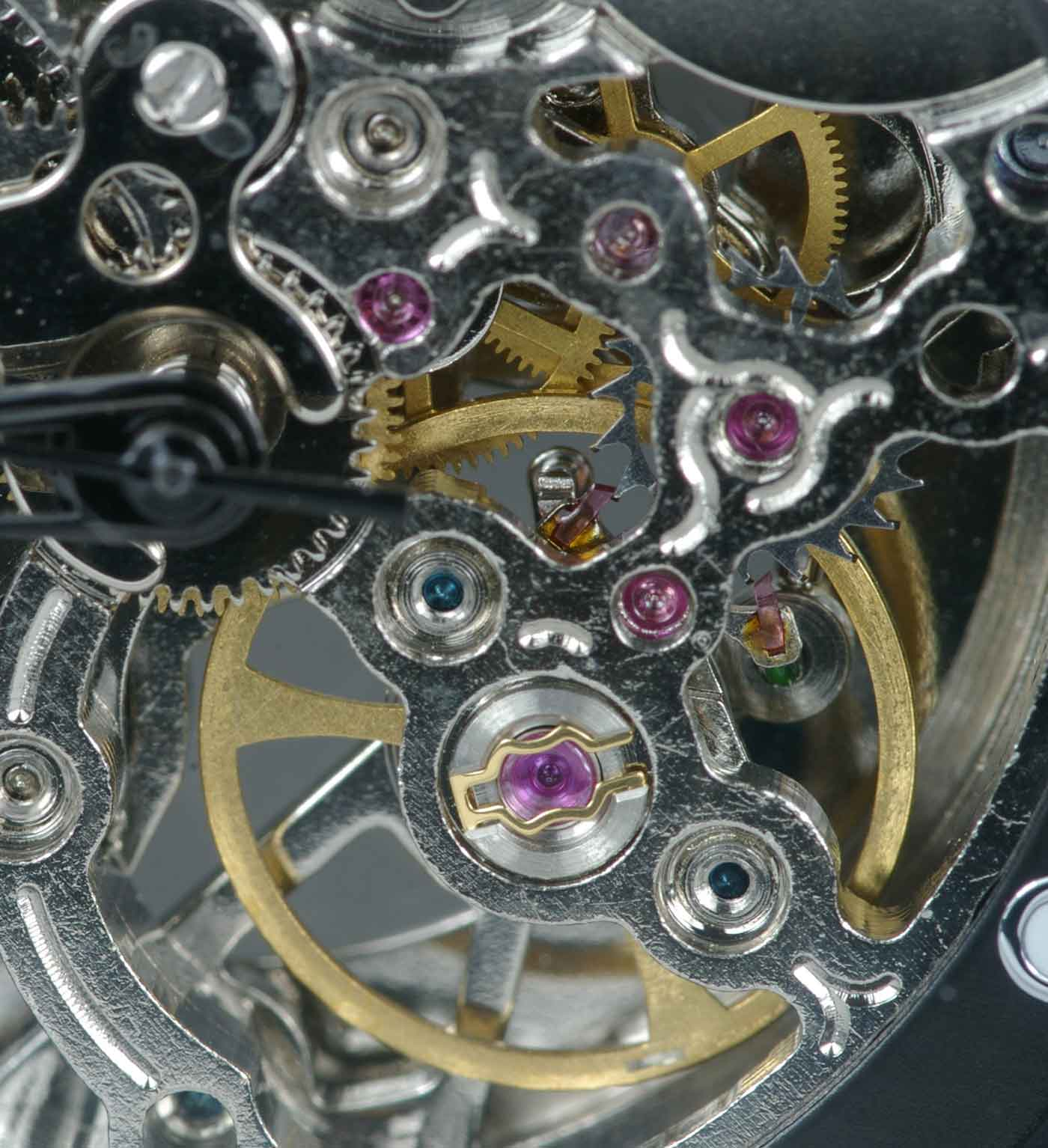 Chinese movement escapement and jewels