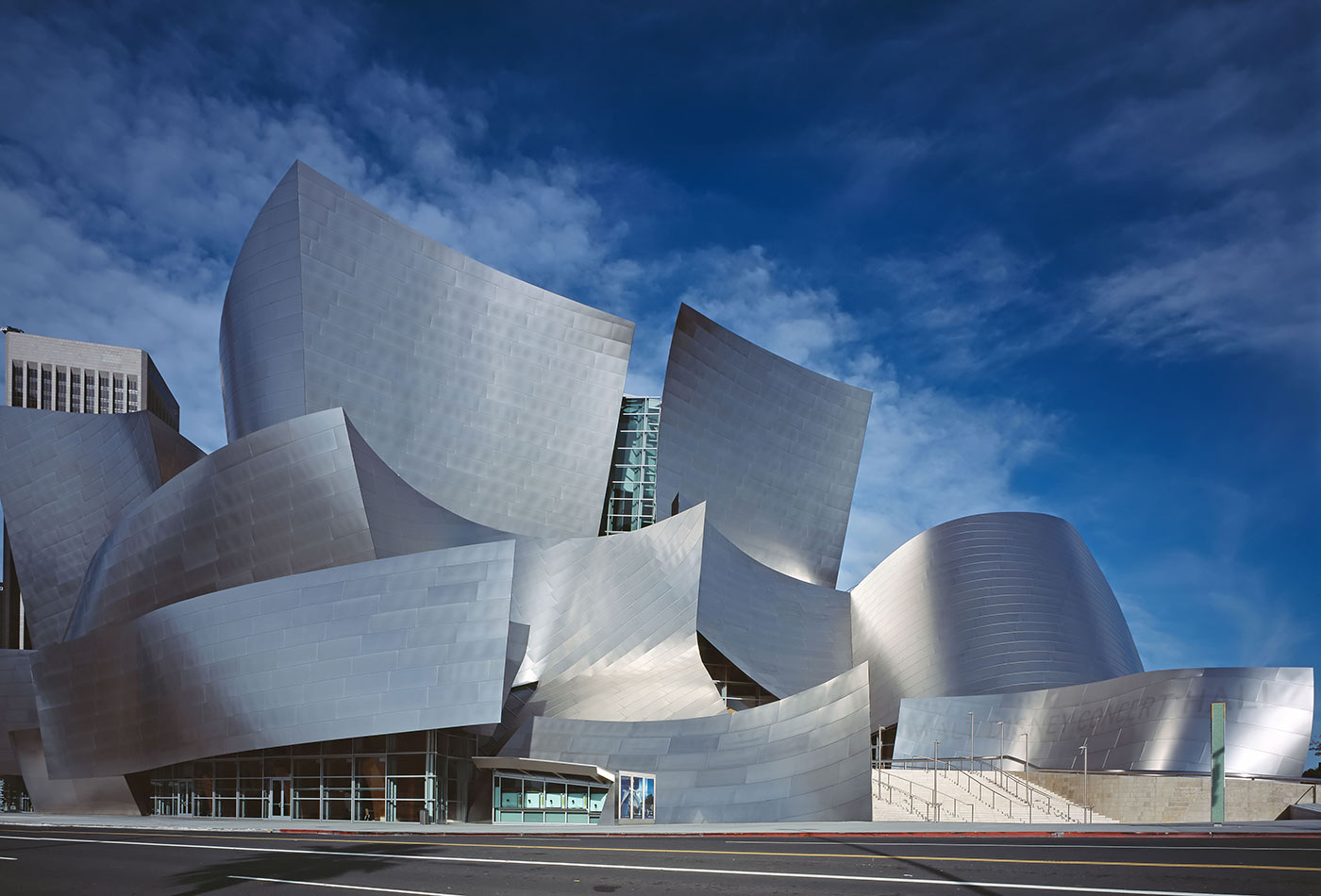 The Walt Disney Concert Hall.