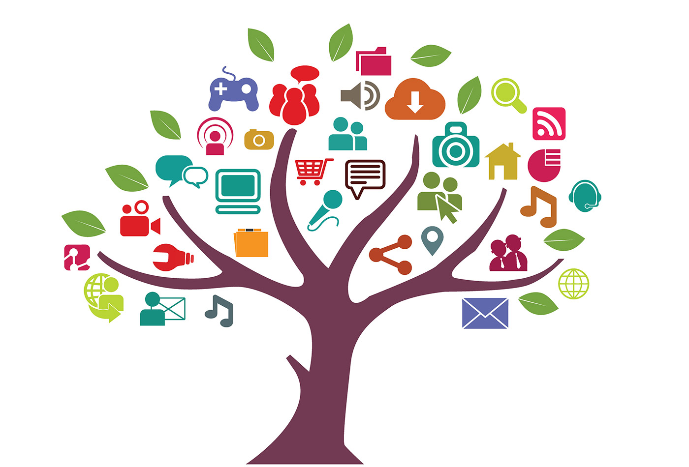 Network tree.