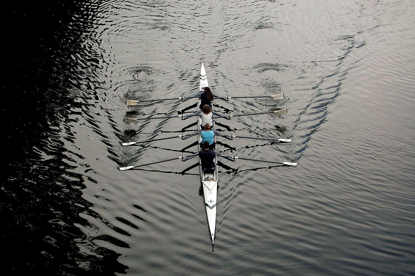 Durham School boat club.