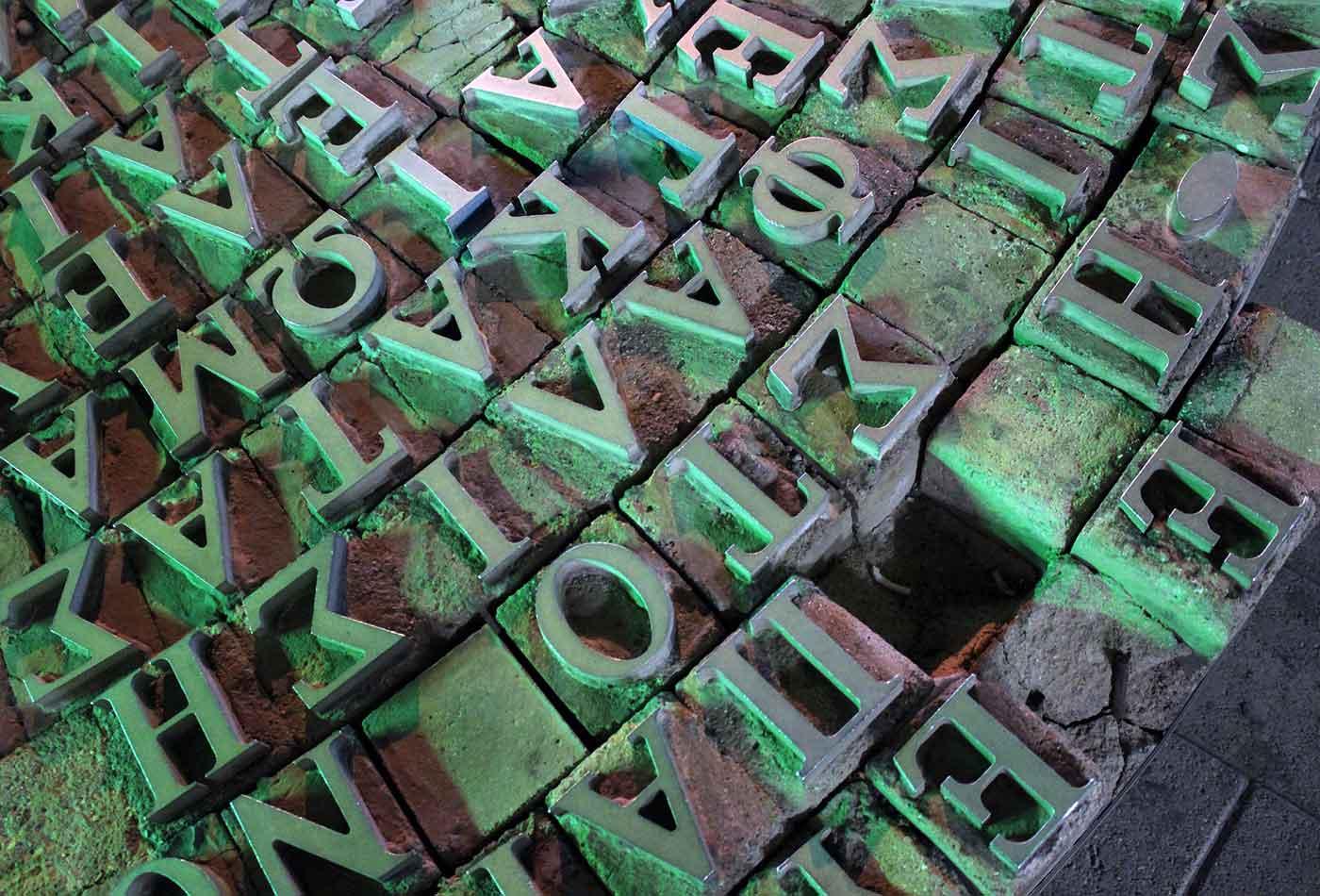 Type blocks