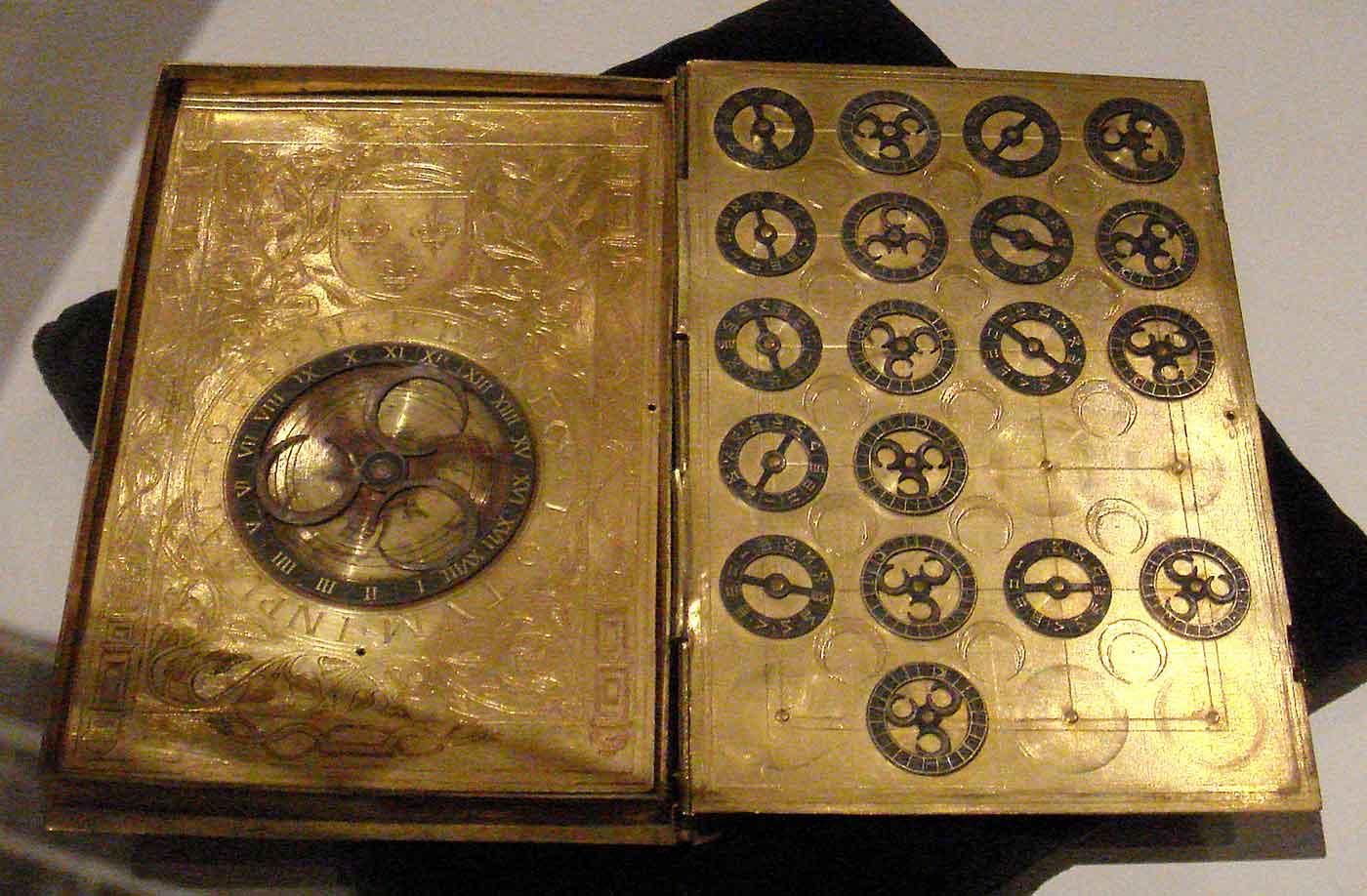 16th century French cypher machine