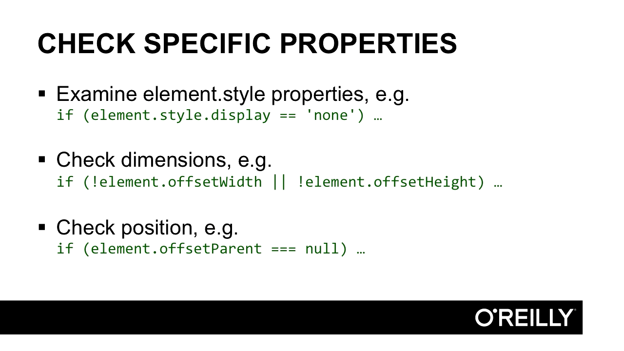 "Screenshot from ""How do you check if an element is hidden in JavaScript?"""