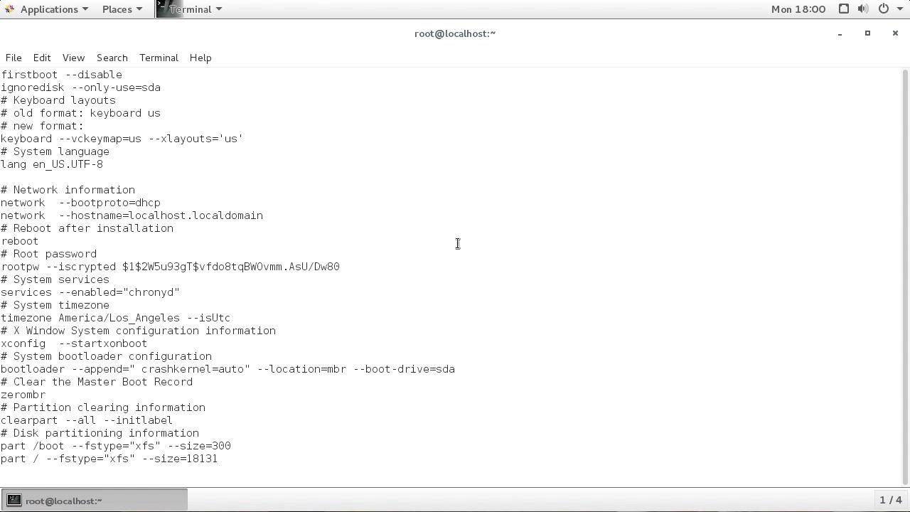 "Screenshot from ""How do you create a Kickstart file?"""