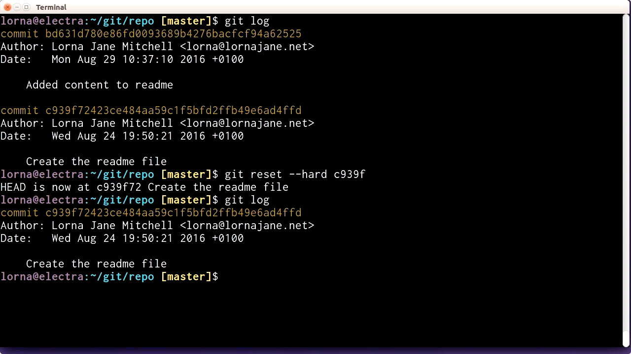 """Screenshot from """"How to undo your last commit"""""""