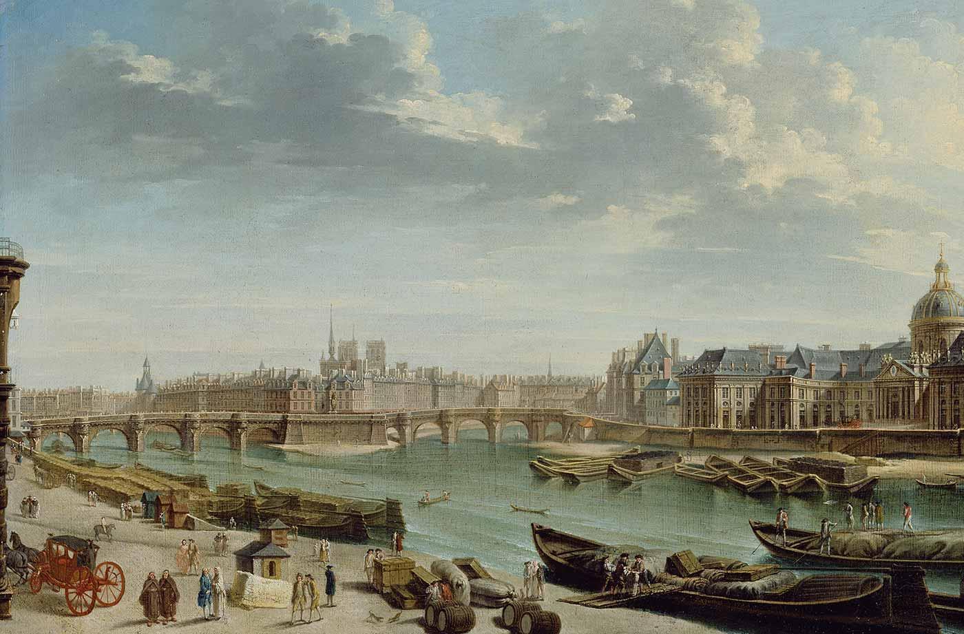 Jean-Baptiste Raguenet, A View of Paris with the Ile de la Cité, 1763