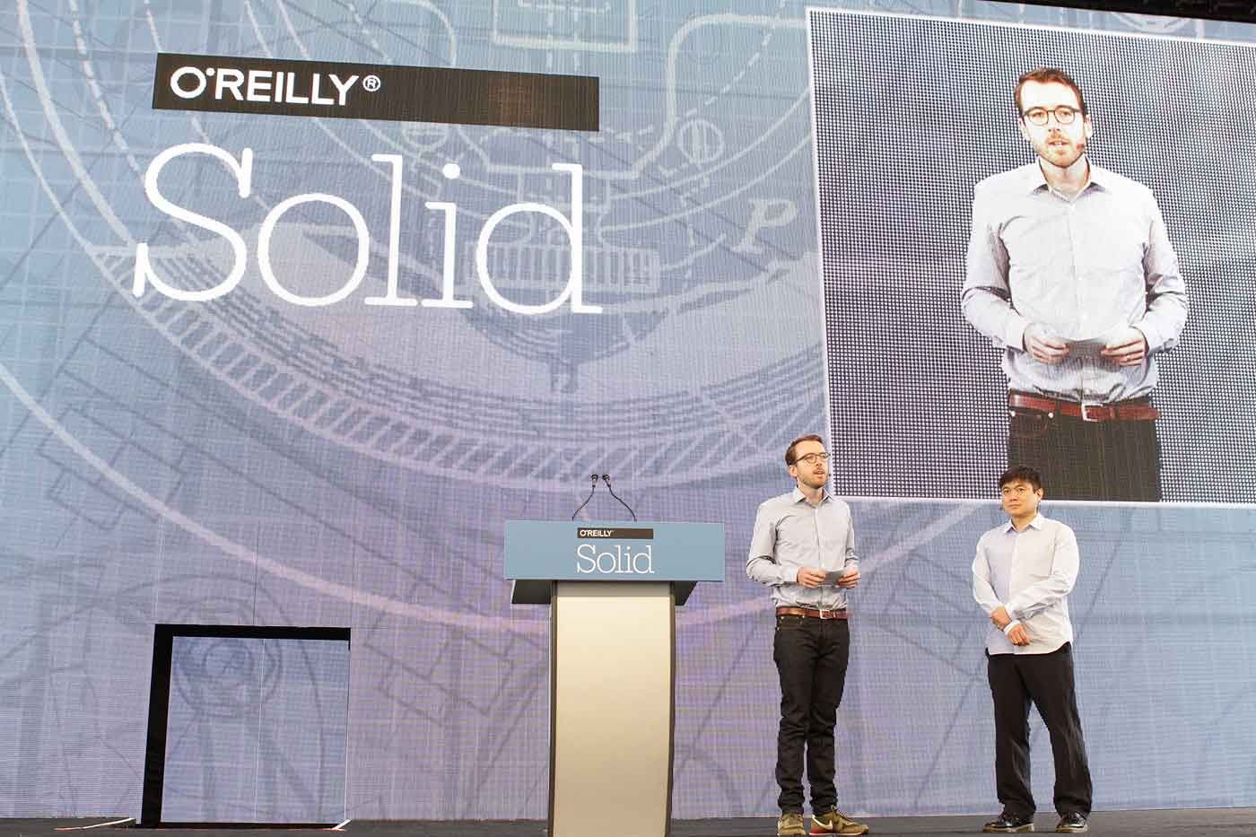 Jon Bruner and Joi Ito at Solid 2015