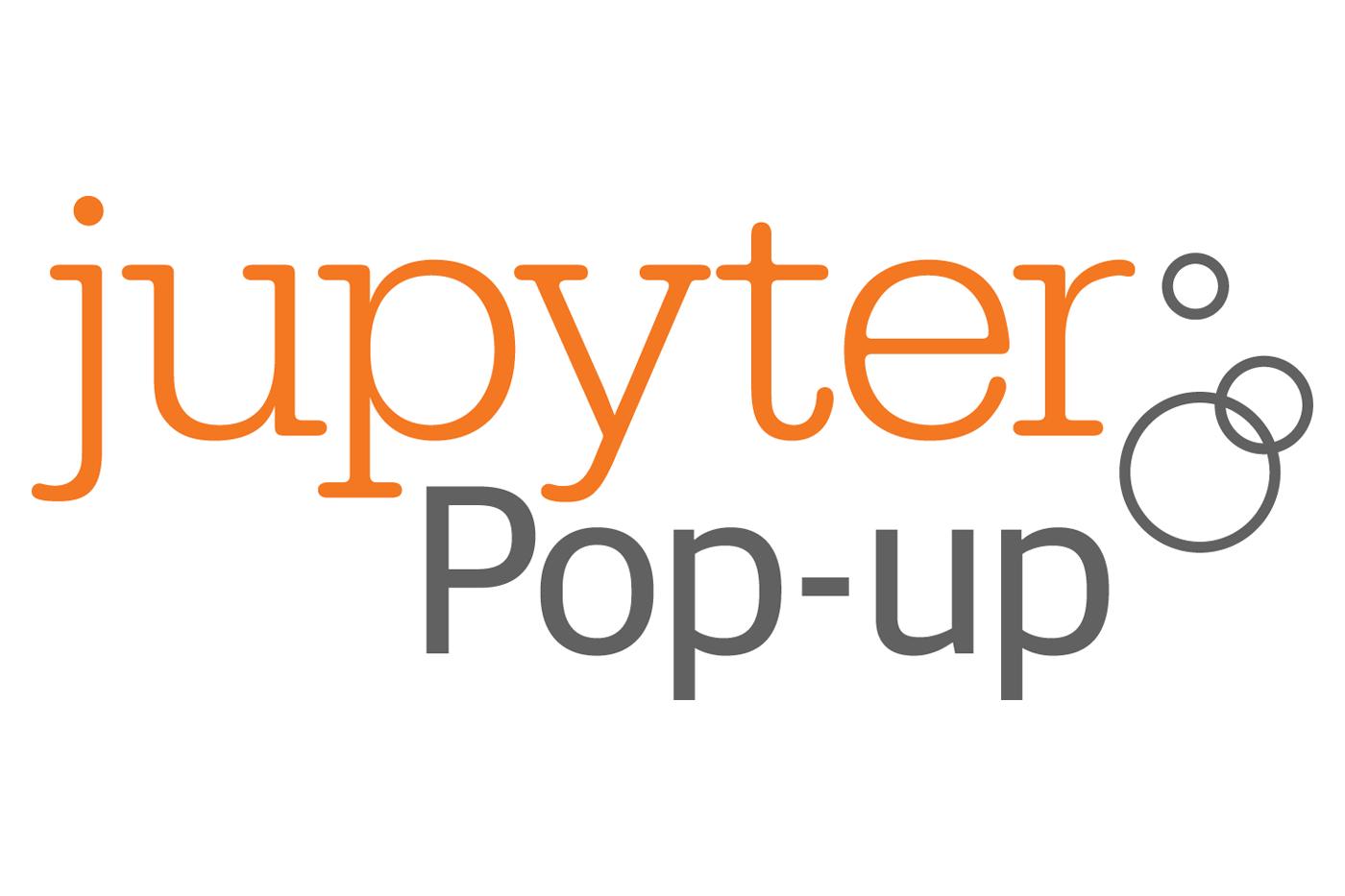 Jupyter Pop-up