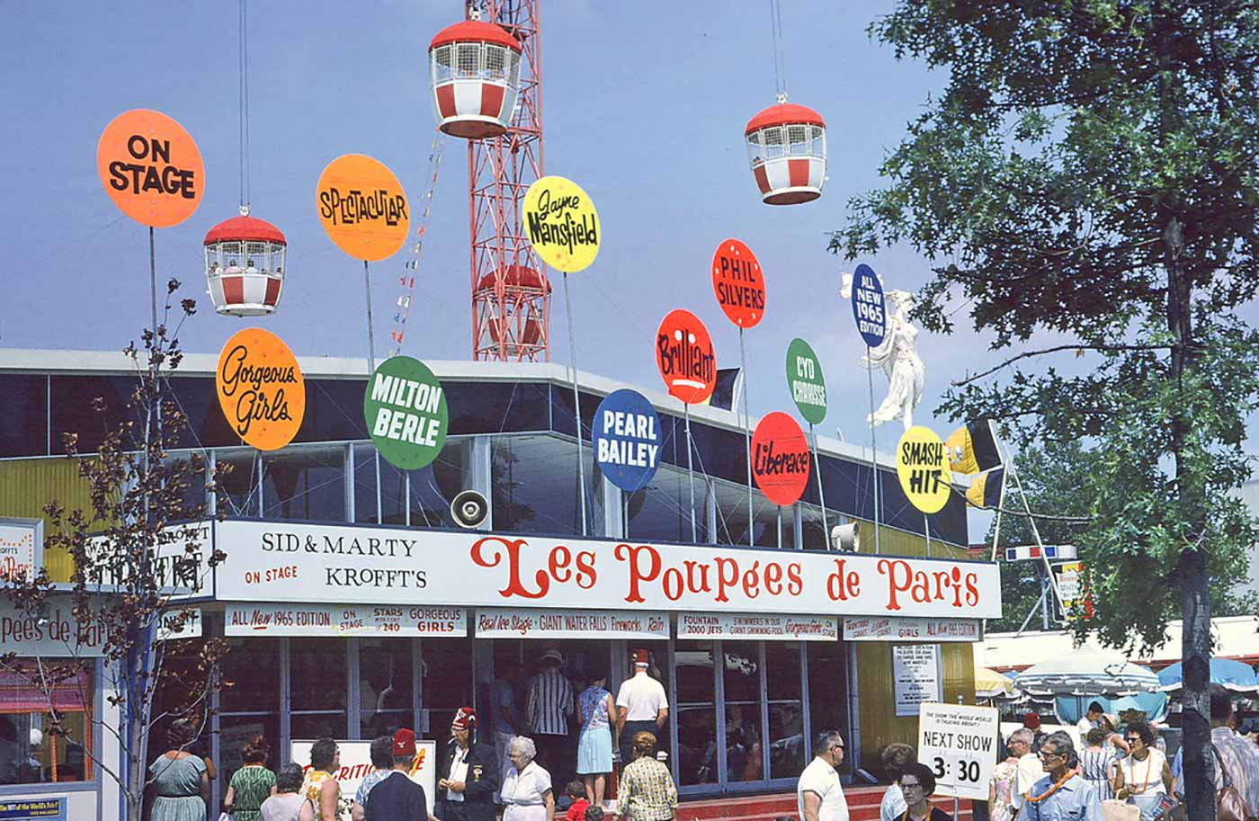 Krofft's La Poupees de Paris Pavillion at the 1964 N.Y. World's Fair